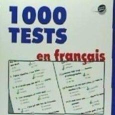 Libros: TESTS FRANCÉS, NIVEL 4. Lote 163367633