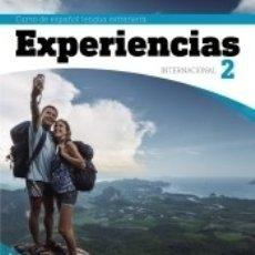 Libros: EXPERIENCIAS INTERNACIONAL A2. LIBRO DEL ALUMNO. Lote 163378997