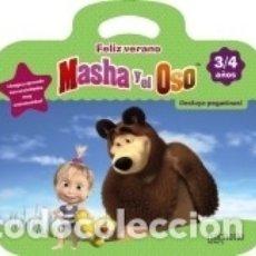 Libros: FELIZ VERANO CON MASHA Y EL OSO 3-4 AÑOS. Lote 163902834