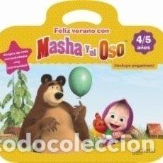 Libros: FELIZ VERANO CON MASHA Y EL OSO 4-5 AÑOS. Lote 164026294