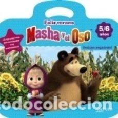 Libros: FELIZ VERANO CON MASHA Y EL OSO 5-6 AÑOS. Lote 164534421