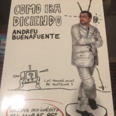 Libros: COMO IBA DICIENDO DE ANDREU BUENAFUENTE CON CD. Lote 165119442