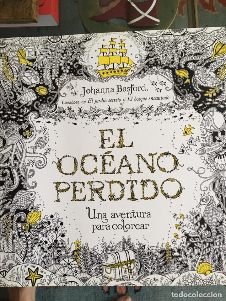 MÁNDALA EL OCÉANO PERDIDO JOHANNA BASFORD (Libros Nuevos - Ocio - Otros)