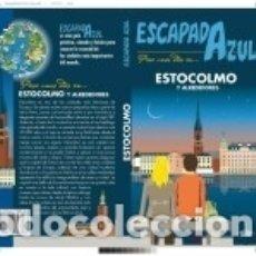 Libros: ESTOCOLMO ESCAPADA AZUL. Lote 165478125