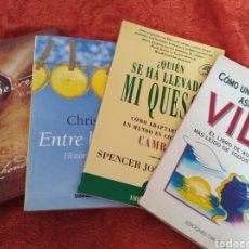 Libros: LOTE 4 LIBROS AUTOAYUDA. EL SECRET.... Lote 165588250
