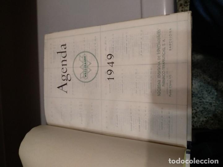 Libros: AGENDA WASSERMANN - AÑO 1949 - PRECIOSOS ANUNCIOS DE LA EPOCA - VER FOTOS - Foto 3 - 165999234
