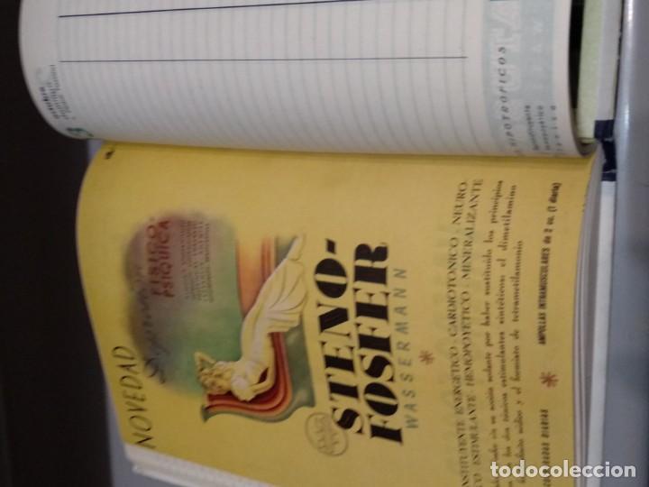 Libros: AGENDA WASSERMANN - AÑO 1949 - PRECIOSOS ANUNCIOS DE LA EPOCA - VER FOTOS - Foto 8 - 165999234