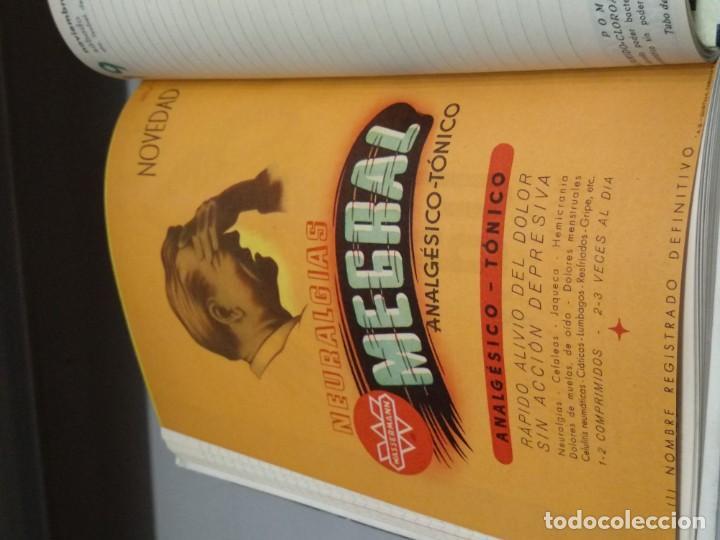 Libros: AGENDA WASSERMANN - AÑO 1949 - PRECIOSOS ANUNCIOS DE LA EPOCA - VER FOTOS - Foto 9 - 165999234