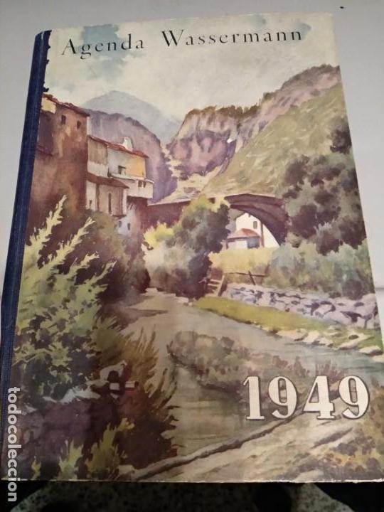 AGENDA WASSERMANN - AÑO 1949 - PRECIOSOS ANUNCIOS DE LA EPOCA - VER FOTOS (Libros Nuevos - Ocio - Otros)