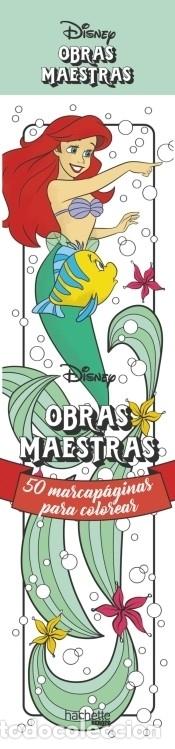 MARCAPÁGINAS OBRAS MAESTAS DISNEY: 50 MARCAPÁGINAS PARA COLOREAR (Libros Nuevos - Ocio - Otros)
