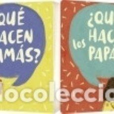 Libros: QUÉ HACEN LAS MAMÁS? / QUÉ HACEN LOS PAPÁS?. Lote 169455068