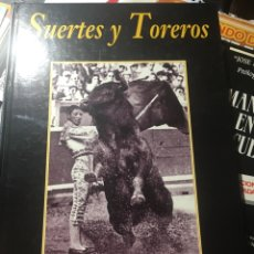 Libros: SUERTES Y TOREROS TAPA DURA 120 PAGINAS. Lote 169790712