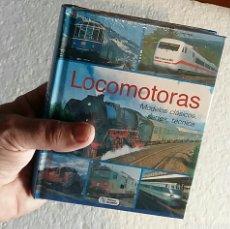Libros: LIBRO LOCOMOTORAS. TAPA DURA. COLECCIÓN MINI TÉCNICA . PRECINTADO.. Lote 170015494