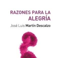 Libros: RAZONES PARA LA ALEGRÍA. Lote 171528354