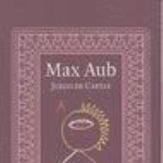 Libros: JUEGO DE CARTAS MAX AUB. Lote 171667609