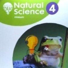 Libros: NATURAL SCIENCE 4. PUPILS BOOK. Lote 171675693