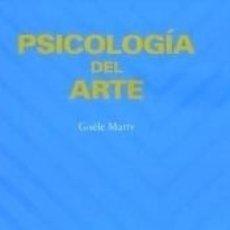 Libros: PSICOLOGÍA DEL ARTE. Lote 171675713