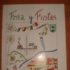Libros: LIBRO DE FERIAS Y FIESTAS ALMENDRAL (BADAJOZ). AÑO 1996.. Lote 171814229