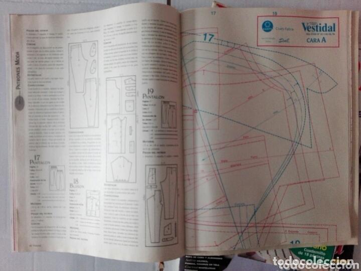 Libros: LOTE TRES REVISTAS VESTIDAL AÑOS 80 - Foto 5 - 172935255