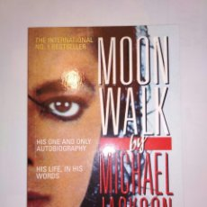 Libros: LIBRO MOONWALK EN INGLES BIOGRAFIA MICHAEL JACKSON. Lote 173681080