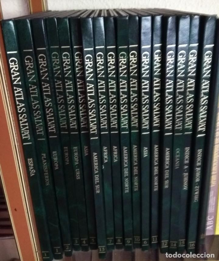 GRAN ATLAS UNIVERSAL SALVAT 1980 (Libros Nuevos - Ocio - Otros)