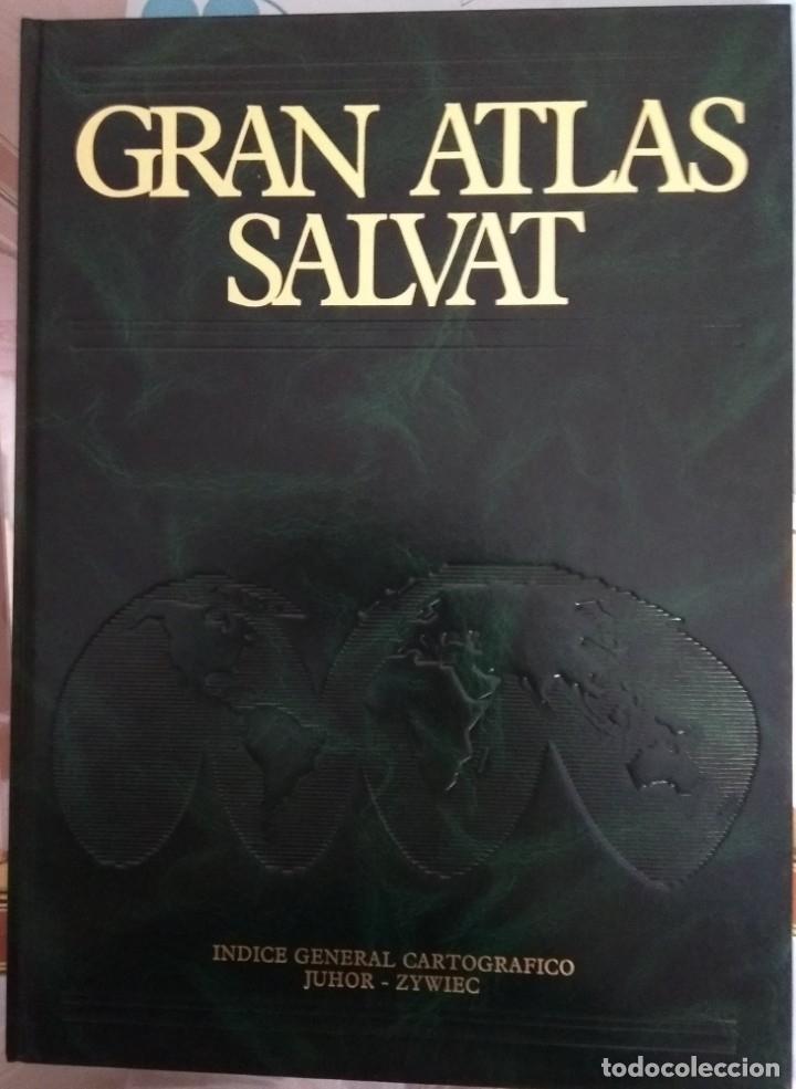 Libros: Gran Atlas Universal Salvat 1980 - Foto 2 - 173908183