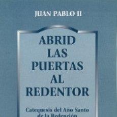 Libros: ABRID LAS PUERTAS AL REDENTOR. Lote 173914730