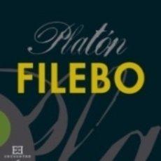 Libros: FILEBO (PLATON). Lote 173914739