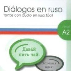 Libros: DIALOGOS EN RUSO A2-1 + CD AUDIO. Lote 175772253