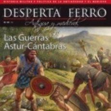 Libros: REVISTA DESPERTA FERRO. ANTIGUA Y MEDIEVAL,Nº 45. LAS GUERRAS ASTUR-CÁNTABRAS. Lote 176518314