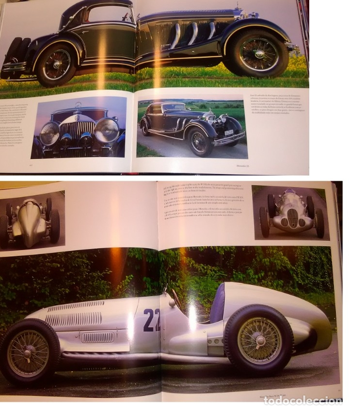 Libros: LIBRO NUEVO ILUSTRADO MERCEDES-BENZ SPORT (CASI 800 FOTOS, 400 PG) - HISTORIA, CARRERAS, F1 Y FUTURO - Foto 2 - 178243506