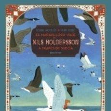 Libros: EL MARAVILLOSO VIAJE DE NILS HOLGERSSON A TRAVÉS DE SUECIA. Lote 180005487