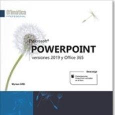 Libros: POWERPOINT VERSIONES 2019 Y OFFICE 365. Lote 180005540