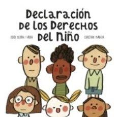 Libros: DECLARACIÓN DE LOS DERECHOS DEL NIÑO. Lote 180005543