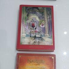 Libros: LOTE 2 LIBROS LAS CRONICAS DE NARNIA. Lote 180026606