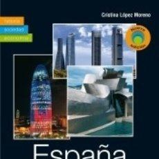 Libros: ESPAÑA CONTEMPORÁNEA: HISTORIA, SOCIEDAD Y ECONOMÍA. Lote 180247720