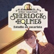 Libros: SHERLOCK HOLMES 1. ESTUDIO EN ESCARLATA. Lote 180349332