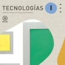 Libros: TECNOLOGÍAS I. LIBRO-GUÍA DEL PROFESORADO. Lote 180853287
