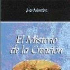 Libros: MISTERIO DE LA CREACIÓN, EL. Lote 180857346