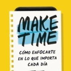 Libros: MAKE TIME. Lote 181364608