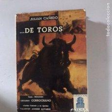 Libros: DE TOROS. Lote 181433987