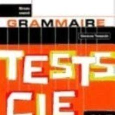 Libros: TESTS CLÉ GRAMMAIRE (NIVEAU AVANCE). Lote 181582858