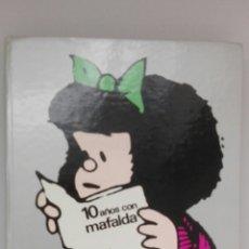 Livros: 10 AÑOS CON MAFALDA «QUINO», EDICIÓN 1973.. Lote 182113627
