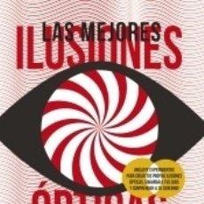 Livros: LAS MEJORES ILUSIONES ÓPTICAS. Lote 182594240