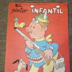 Libros: EL PINTOR INFANTIL. ED. NERVION 1986. Lote 182622382