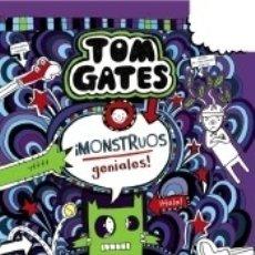 Libros: TOM GATES: ¡MONSTRUOS GENIALES!. Lote 182976177