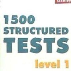 Libros: TESTS ESTRUCTURADOS I. Lote 182976197