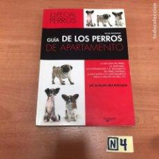 Libros: GUÍA DE LOS PERROS DE APARTAMENTO. Lote 183911541