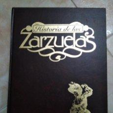 Libros: HISTORIA DE LAS ZARZUELAS 2 TOMOS ( 1 Y 2 PARTE ). Lote 183915515