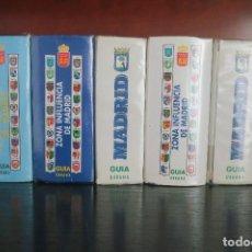 Libros: GUIA URBANA DE MADRID 5 GUIAS. Lote 184877488